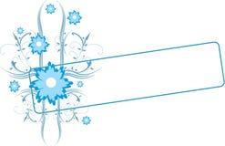 Flores azules libre illustration