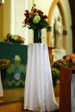 Flores bonitas de la iglesia Foto de archivo