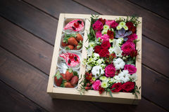 Flores bonitas e delicadas Imagens de Stock