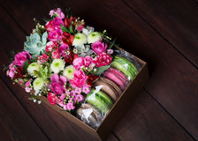 Flores bonitas e delicadas Fotografia de Stock Royalty Free
