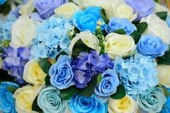 Flores bonitas fundo e textura para a cena do casamento Imagens de Stock