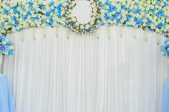 Flores bonitas fundo e textura para a cena do casamento Imagem de Stock Royalty Free