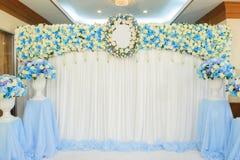 Flores bonitas fundo e textura para a cena do casamento Fotografia de Stock Royalty Free