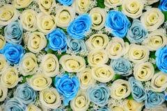 Flores bonitas fundo e textura para a cena do casamento Fotos de Stock Royalty Free