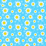 Flores brancas ilustração royalty free