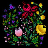 Flores brillantes del vector Fotografía de archivo