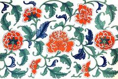 Flores chinesas ilustração stock