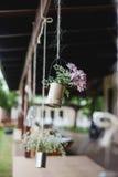 Flores colgantes Foto de archivo libre de regalías