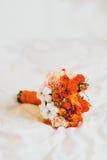 Flores color de rosa del ramillete Fotos de archivo