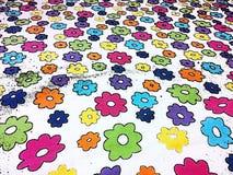Flores coloridas Imagen de archivo libre de regalías