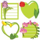Flores coloridas stock de ilustración