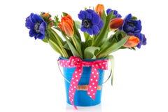 Flores coloridas do ramalhete foto de stock