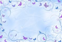 Flores com asas Foto de Stock
