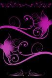 Flores com inclinação Foto de Stock Royalty Free
