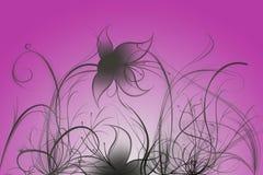Flores com inclinação Imagens de Stock