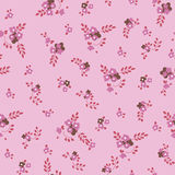 Flores cor-de-rosa pequenas Imagens de Stock Royalty Free
