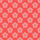 Flores coralinas ilustración del vector