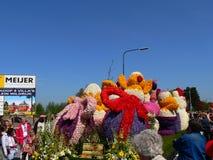 Flores da parada Fotografia de Stock