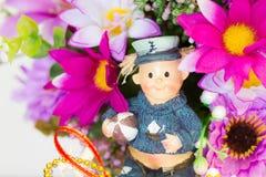 Flores da tela Fotografia de Stock Royalty Free