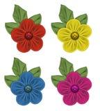 Flores da tela Imagens de Stock