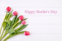 Flores da tulipa para o dia de mães Fotos de Stock