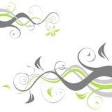 Flores de Abbstract Imagens de Stock Royalty Free