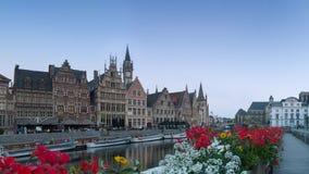 Flores de Ghent Fotografia de Stock Royalty Free