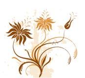 Flores de Grunge libre illustration