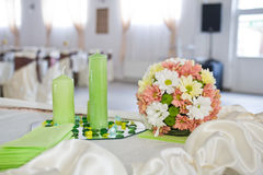 Flores de la boda Fotografía de archivo