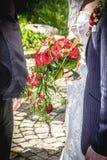 Flores de la boda para la novia foto de archivo libre de regalías