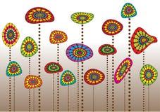 Flores de la fantasía Imagen de archivo libre de regalías