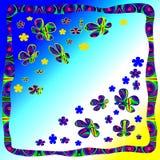 Flores de la fantasía Fotografía de archivo libre de regalías