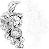 Flores de la fantasía Imágenes de archivo libres de regalías