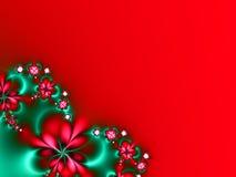 Flores de la Navidad Fotos de archivo libres de regalías
