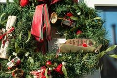 Flores de la Navidad Foto de archivo libre de regalías