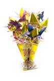 Flores de la papiroflexia Fotos de archivo
