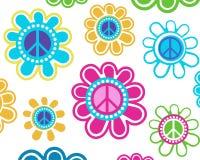 Flores de la paz Fotos de archivo