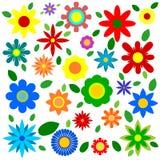 Flores de la primavera - ejemplo Imágenes de archivo libres de regalías