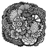 Flores de la primavera fijadas Imagen de archivo