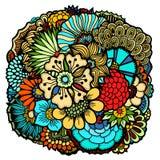 Flores de la primavera fijadas Fotografía de archivo libre de regalías