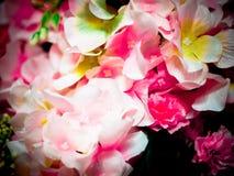 Flores de la tela Fotos de archivo