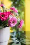 Flores de la tela Imagen de archivo