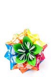 Flores de la unidad de Origami Fotos de archivo