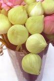 Flores de Lotus para rogar y la adoración Fotos de archivo libres de regalías