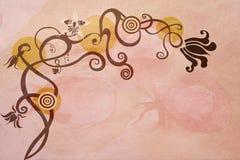 Flores de lujo ilustración del vector