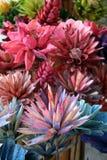 Flores de madera Imagenes de archivo
