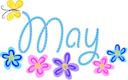 Flores de mayo Imagen de archivo