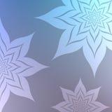 Flores de néon Imagem de Stock Royalty Free