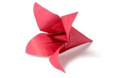 Flores de Origami fotografia de stock royalty free