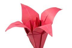 Flores de Origami Imagenes de archivo